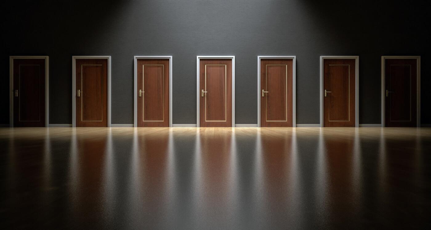 hpl deuren bruin